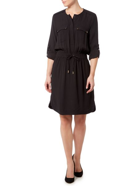 InWear Tie waist long sleeve shirt dress