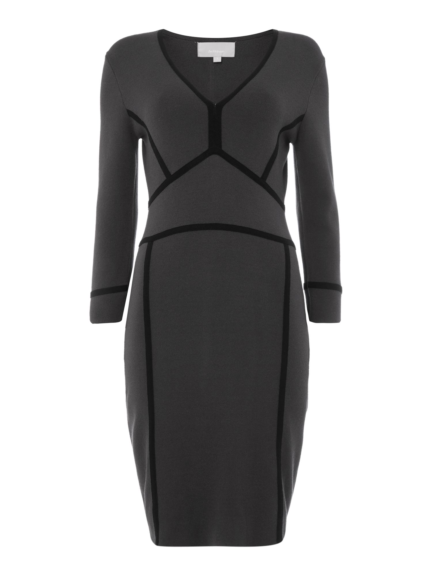 InWear InWear Fitted outlined dress, Grey
