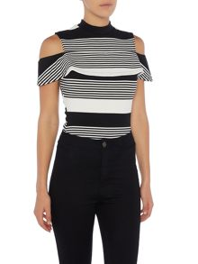 Lost Ink Sleeveless Striped Body