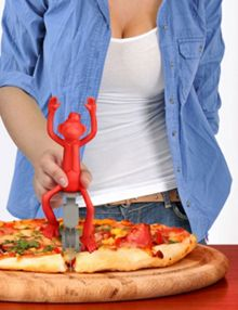 Fred Pizza Wheel `Pizza Peddler` Design