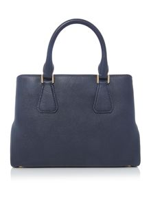 Michael Kors Camille navy medium satchel bag