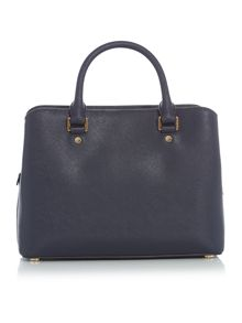 Michael Kors Savannah navy medium tote bag