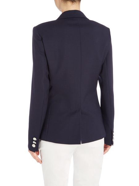 Max Mara PAESE Front button two pocket wool jacket