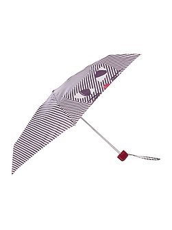 Kooky cat striped tiny umbrella
