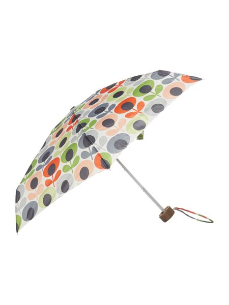 Orla Kiely Tiny-2 multi flower oval umbrella