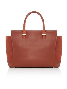 Calvin Klein Carolyn tan large tote bag