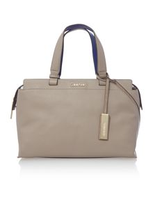 Calvin Klein Julia neutral satchel