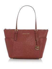 Michael Kors Jetset item red tote bag