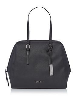 Marissa black large satchel