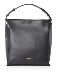 Calvin Klein Keyla black hobo bag