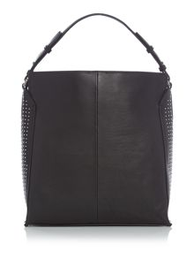 Calvin Klein Keyla plus black hobo bag