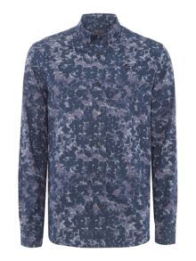 Perry Ellis America Bold Printed Long-Sleeve Shirt