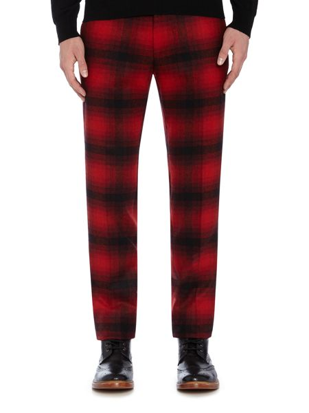 Noose and Monkey Skinny Fit Check Trousers