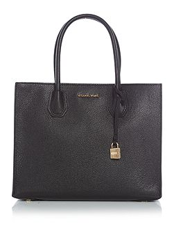 Mercer black large tote bag