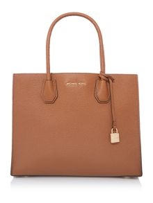 Michael Kors Mercer tan large tote bag