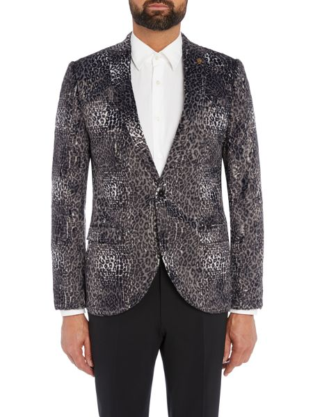Noose and Monkey Skinny Fit Suit Jacket