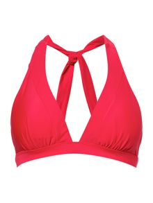 Dickins & Jones Red triangle bikini