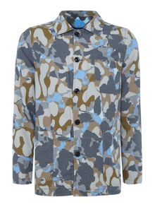 Perry Ellis America Hide Out Print Jacket