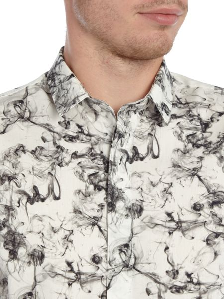 Noose and Monkey Printed Smokey Shirt