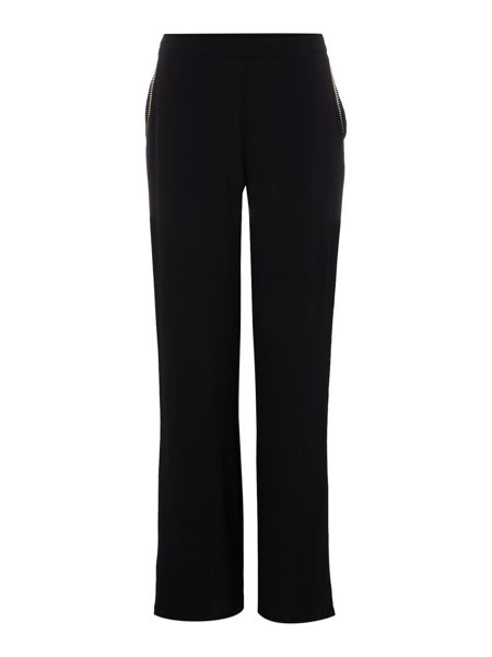 Little White Lies Wide Leg Zip Pocket Trousers
