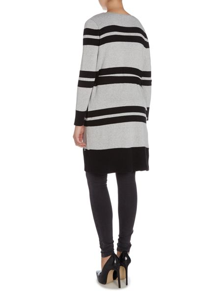 Salsa Nilo stripe knitted jacket