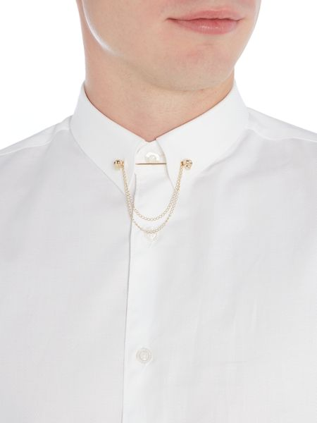 Noose and Monkey Shirt with Gold Chain