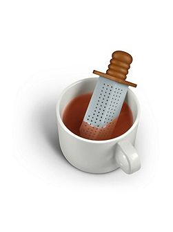 Silicone Tea Infuser Strong Brew Sword Design