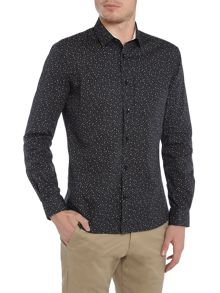 WP Long Sleeve Spot Print Shirt