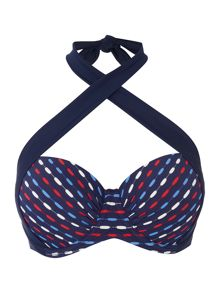 Dickins & Jones Nautical weave multiway top