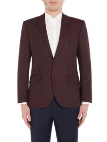 WP Peak Lapel Skinny Fit  Jacket
