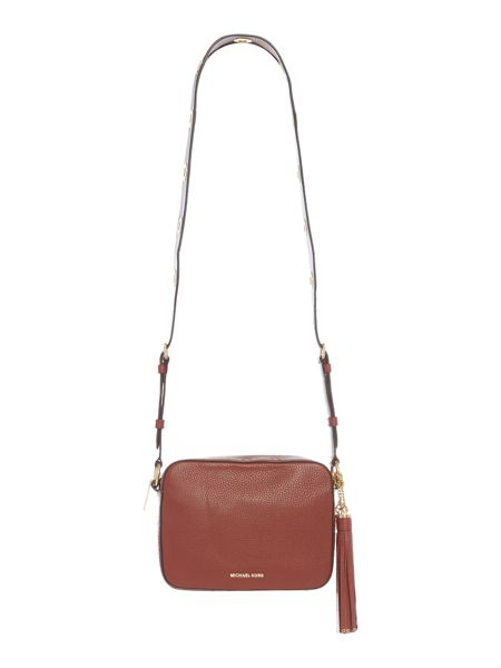 Michael Kors Brooklyn red cross body bag