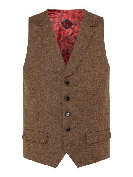 WP Skinny Fit Waistcoat with Lapel