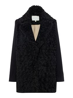 Long Sleeved Wool Coat
