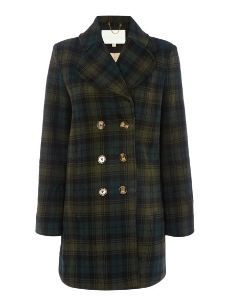 Little White Lies Long Sleeved Check Coat