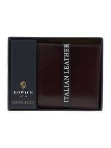 Howick Italian Leather Wallet