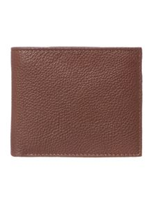 Howick Bold Grain Leather Wallet With Coin Pocket