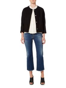 Max Mara ARCA Round neck cotton mix jacket