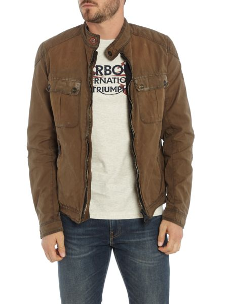 Barbour Triumph locking distressed wax