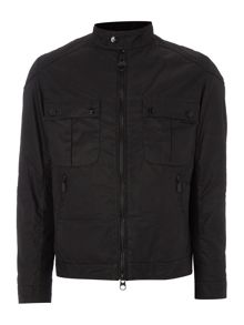 Barbour Triumph locking wax jacket