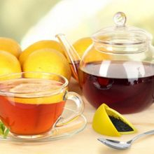 Fred Silicone Tea Infuser Lemon Design