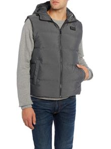 Michael Kors Zip-up hoodied down gilet