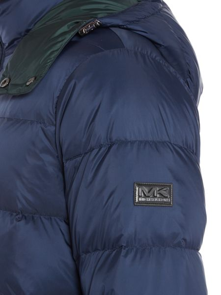 Michael Kors Hoodied down padded jacket