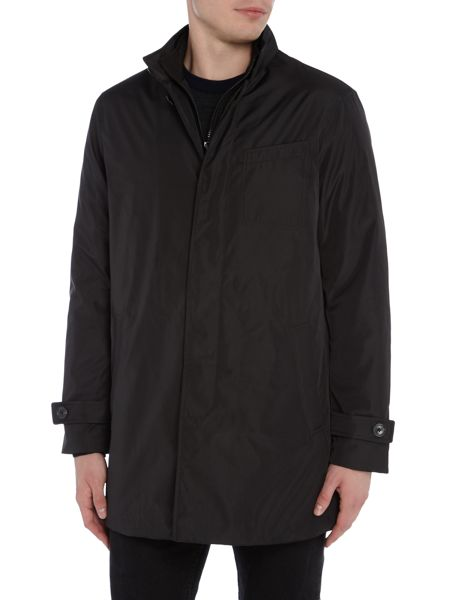 Michael Kors Long line showerproof tech car coat