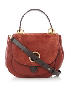Michael Kors Isadore red medium cross body bag