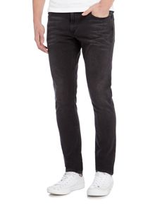 Michael Kors Thompson skinny fit black jeans