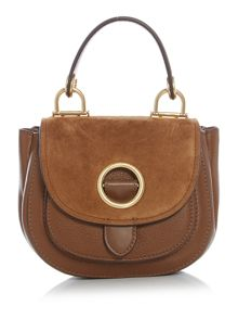 Michael Kors Isadore tan small cross body bag