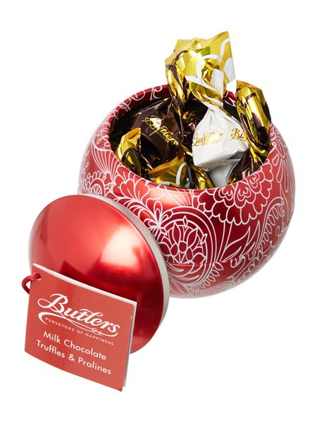 Butlers Red christmas bauble 150g