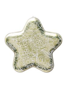 Butlers Christmas star decoration 150g