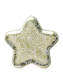 Christmas star decoration 150g
