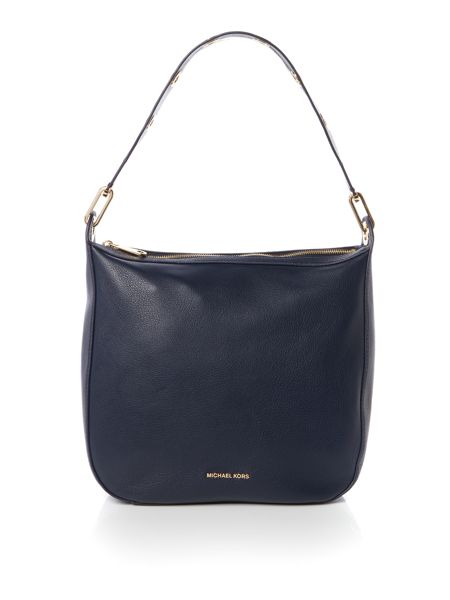 Michael Kors Raven navy large hobo bag